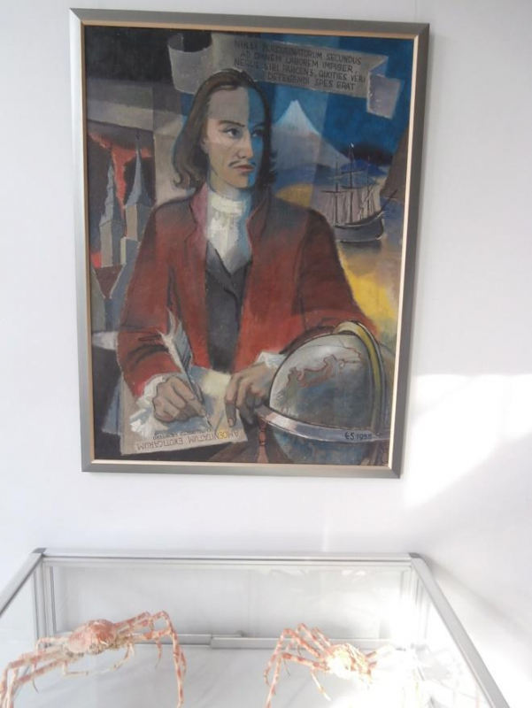 Moderne Abbildung Engelbert Kaempfers