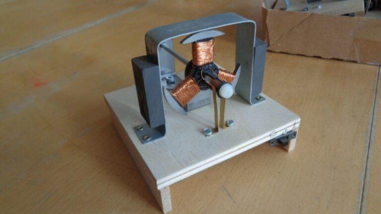 Praktische Erfahrungen im Bau von Elektromotoren